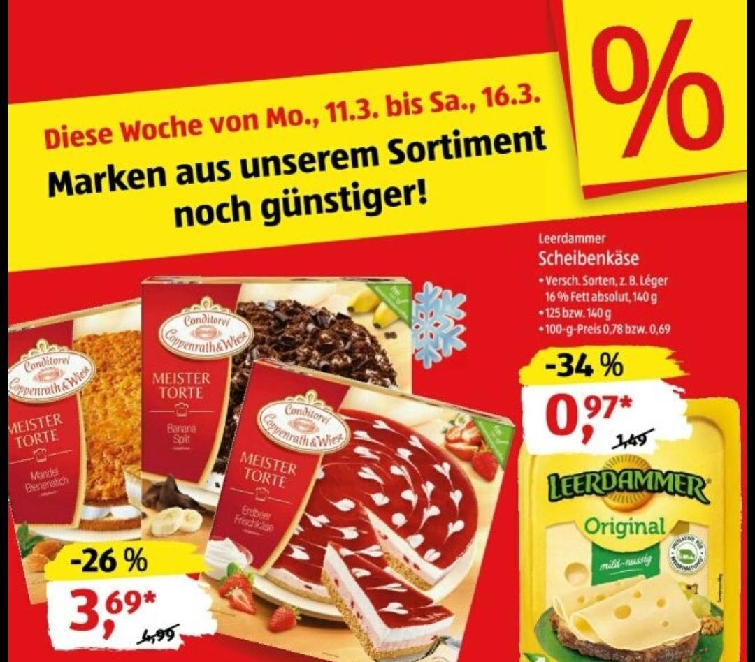 Coppenrath & Wiese Meistertorten für 3,69€ bei [Aldi Süd&Nord ;ab 11.03]