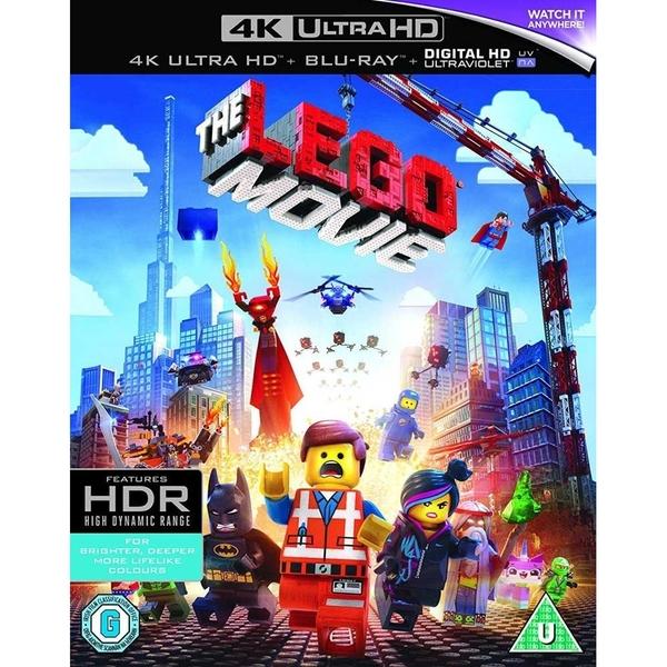 The Lego Movie 4K (4K UHD + Blu-ray + UV Copy) für 8,28€ (Shop4DE)