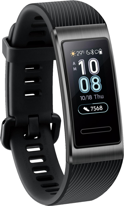 "Huawei Band 3 Pro (0.95"" AMOLED 240x120 Touchscreen, Bluetooth 4.2, Herzfrequenzmessung, Schrittzähler, GPS, ~12 Tage Akku, wasserdicht 50m)"