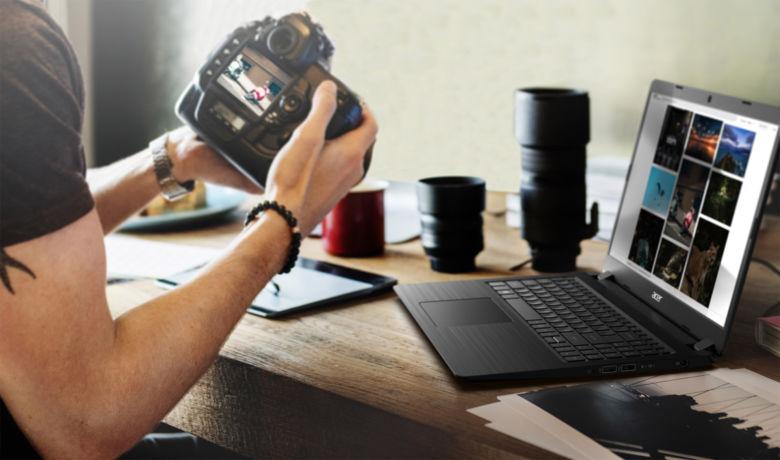 """Acer Aspire 3 Multimedia Notebook mit 15,6"""" FHD matt, AMD Ryzen 5 2500U, Vega 8, 1TB HDD + 128 GB SSD, Wlan ac für 429€ (NBB)"""
