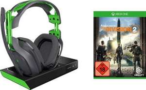Astro A50 kabelloses Gaming Headset + The Division 2 für Xbox One (geschlossen, 7.1 Surround Sound, PC kompatibel)