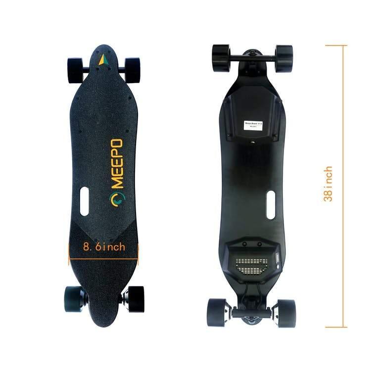 """[eskateboardpark.com] Meepo V2 38"""" E-Longboard 800 Watt 4Ah Dual Motor Elektrisches Longboard Skateboard"""