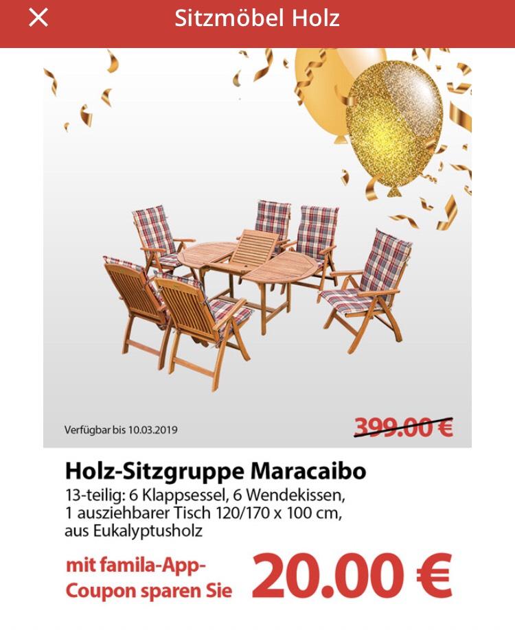 Lokal Famila Nordost Merxx Holz Sitzgruppe Maracaibo