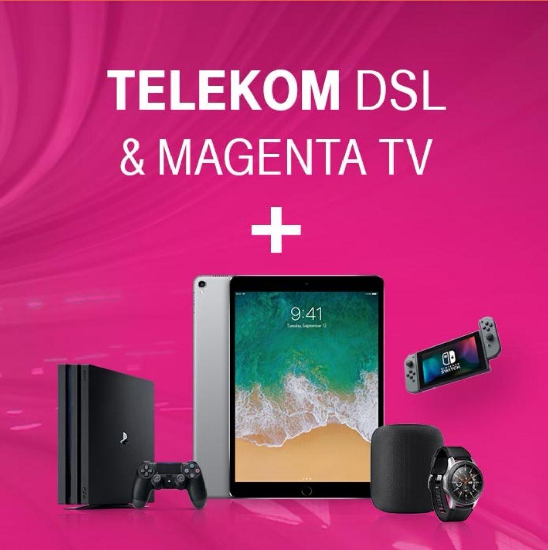 Telekom Magenta Zuhause M (+ MagentaTV) mit Cashback od. Gerät eurer Wahl - z.B. Apple HomePod, Sonos Beam, Nintendo Switch, etc. *UPDATE* jetzt mit 12 Monaten Sky dazu