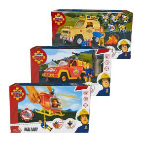 [Aldi Nord ab dem 14.03.] Feuerwehrmann Sam Fahrzeug (Toms 4x4, Venus, Wallaby)
