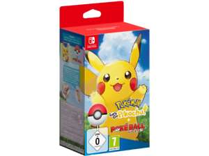 Pokémon: Let's Go Pikachu + Pokéball Plus! [Saturn eBay]