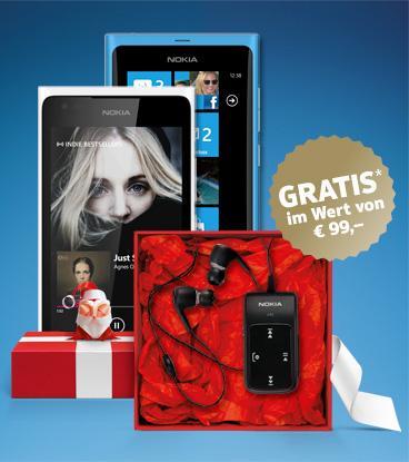 AT & DE:Nokia: gratis Bluetooth Headset im Wert von € 99,- (nur Lumia 800 & Lumia 900 Besitzer)