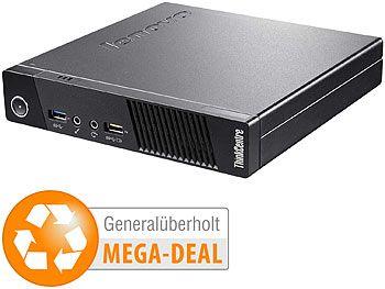 Lenovo ThinkCentre M73 Tiny, Intel CPU, 4GB RAM, 128GB SSD (generalüberholt)