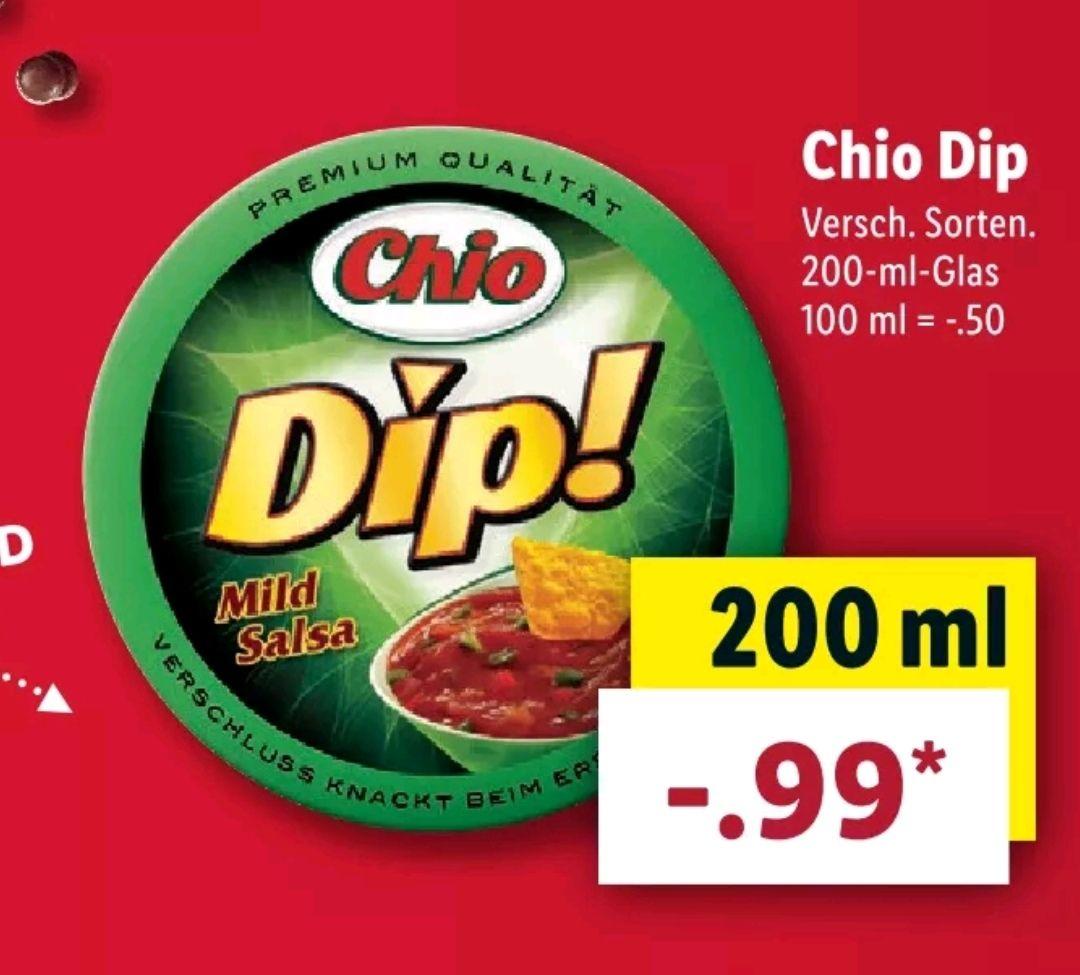 Chio Dip! nur noch 0,99€ bei (Lidl; ab 11.03)