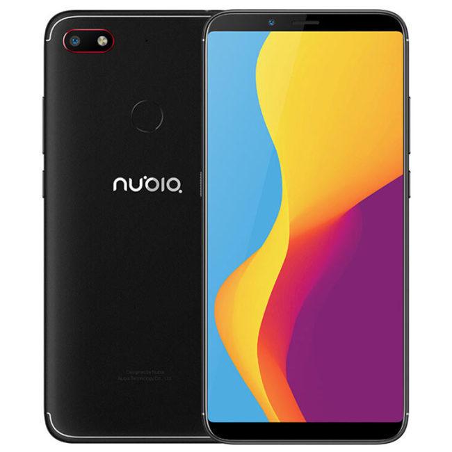 ZTE Nubia V18 (Global Version) 64GB/4GB (6 Zoll, 4000 mAh, Snapdragon 625) [Banggood]
