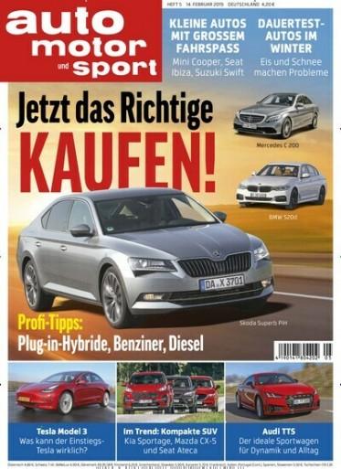 Auto Motor & Sport Abo (26 Ausgaben) für 117 € mit 110 € Amazon-Gutschein oder 105 € Verrechnungsscheck