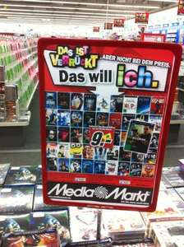 [Lokal] Wiesbaden Media Markt Exklusive Steelbook-Edition je 9€