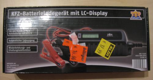 [LOKAL?] KFZ-Batterieladegerät im ALDI Bremen für 10€