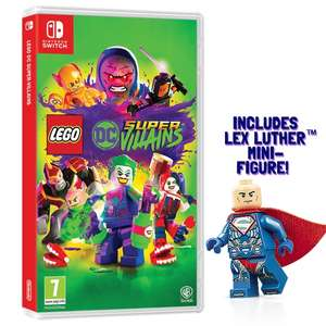 LEGO DC Super-Villains Minifigur Edition (Switch & Xbox One & PS4) für je 29,98€ (Shop4DE)