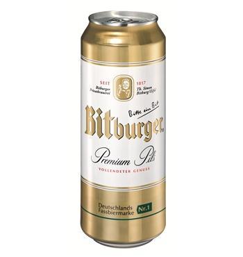 0,5 Liter Dose Bitburger Premium Pils 0,49 € bei allyouneed
