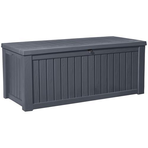 KETER Gartenbox XXL 570 Liter grau (anthrazit)