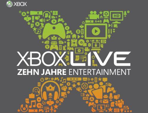[Xbox Live] 10. Jahre Xbox Live = 50% auf ausgesuchte Titel