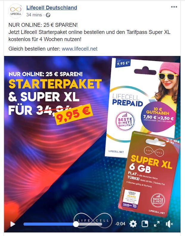 Lifecell Super XL Tarif
