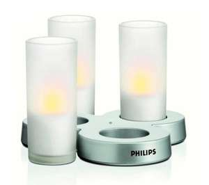 Philips Imageo LED Kerzen 3er Set weiß