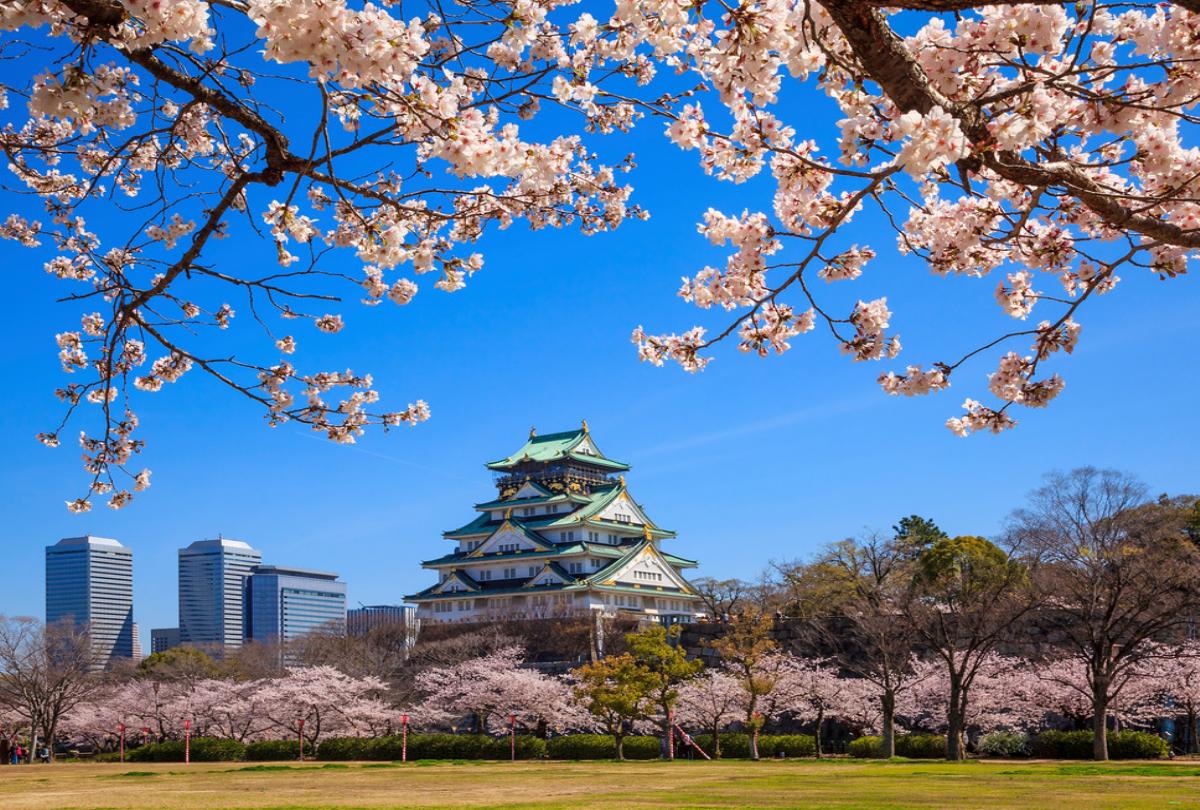 Flüge:Japan(Apr-Mai/Okt-Jan)Hin- und Rückflug von Hamburg, Düsseldorf, Berlin, München und Stuttgart nach Osaka ab 479€ inkl. 2x23Kg Gepäck