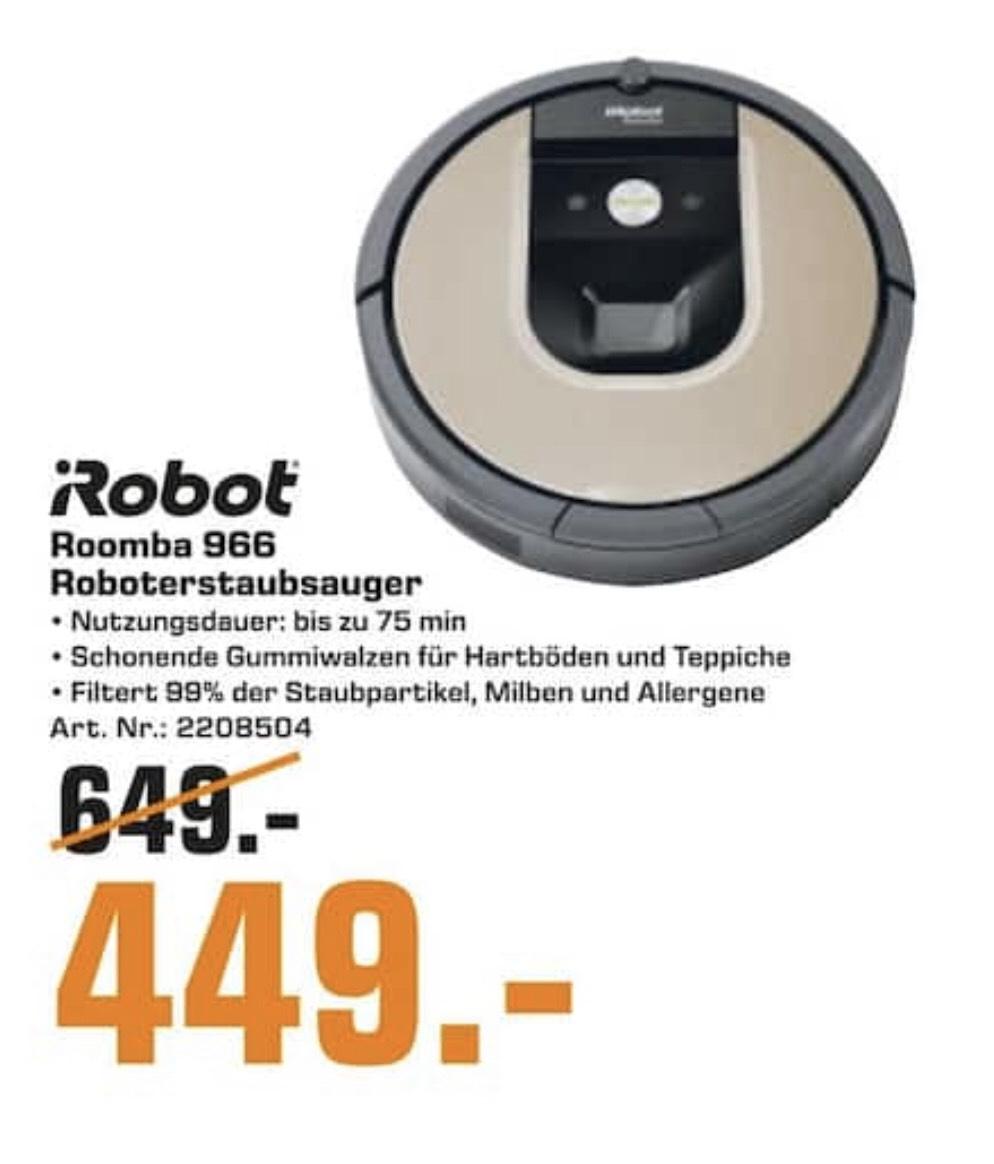 [Saturn Halle/Saale] iRobot Roomba 966