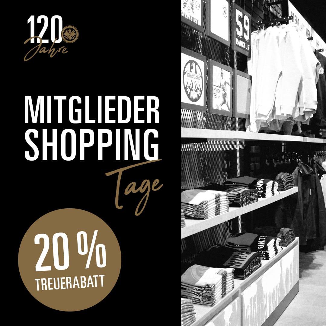 120 Jahre [Eintracht Frankfurt] [Mitglieder] 20% statt 10% im Fanshop, VSK-frei ab 100€ (rabattiert)