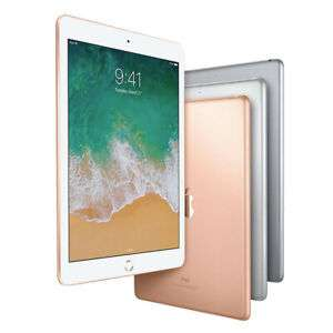 apple ipad 2018 a1893 128gb wifi in silber und gold. Black Bedroom Furniture Sets. Home Design Ideas
