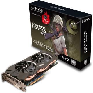 3072MB Sapphire Radeon HD 7950 Boost Aktiv PCIe 3.0 @mindfactory/Mindstar
