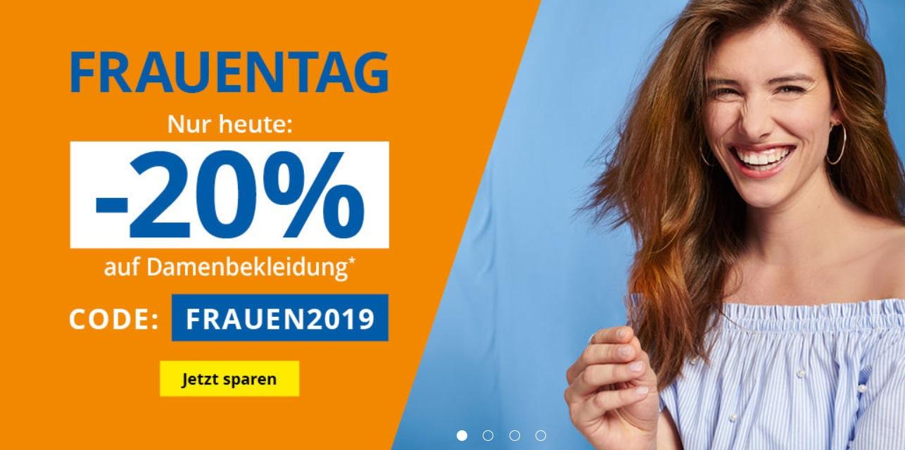 Takko: 20% Rabatt auf Damenbekleidung!