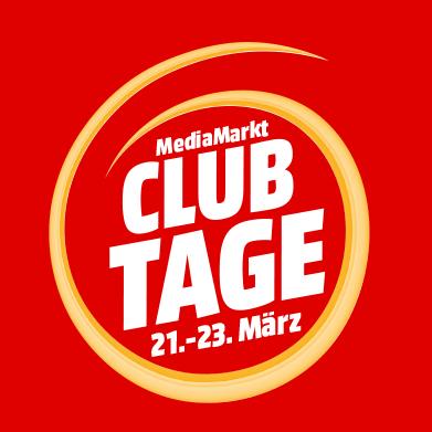 MediaMarkt ClubTage - bis zu 15% Rabatt (vom 21.03. bis 23.03.)