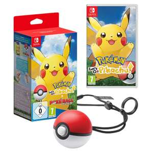 Pokémon: Let's Go, Pikachu + Pokéball Plus (Nintendo Switch) für 59€ [MediaMarkt/Amazon]