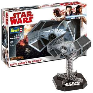 Darth Vader Tie Fighter (Star Wars) Revell 1:72 Master Series Model Kit [Shop4de]