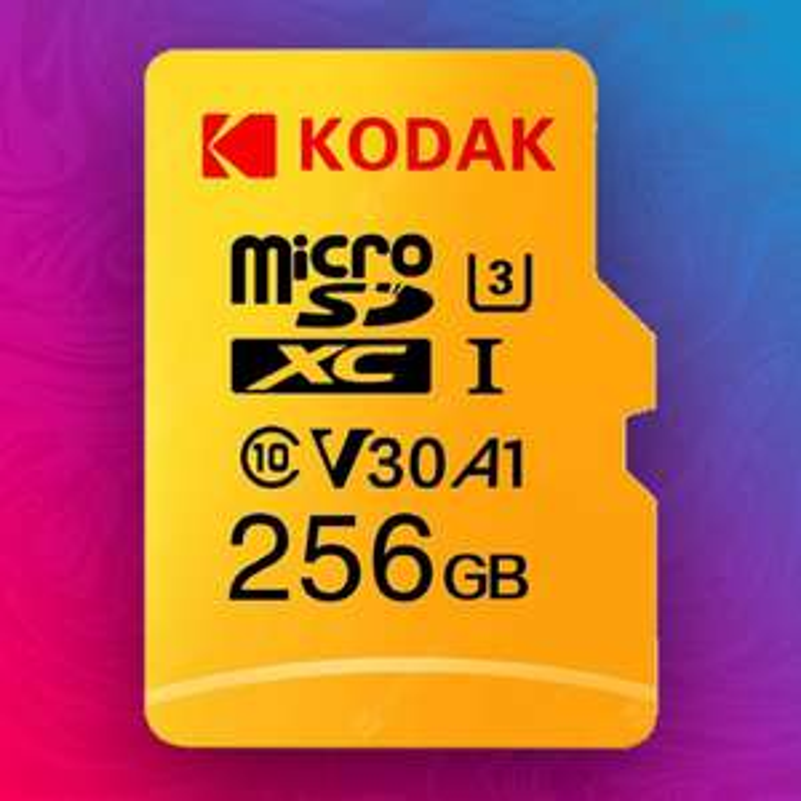 Kodak High-Speed 256GB MicroSD (U3/A1/V30 - 100MB/s | 80MB/s) | 128GB für 17,60€ // 64GB für 8,86€