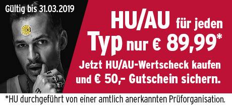 A.T.U - Auto Teile Unger - Haupt- und Abgasuntersuchung für 89,99 inkl. 50Euro Gutschein - auch Vor Ort MÖGLICH!!