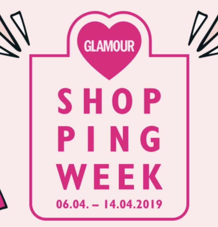 GLAMOUR SHOPPING WEEK 06.04.-14.04.2019: Alle teilnehmenden Shops und Codes