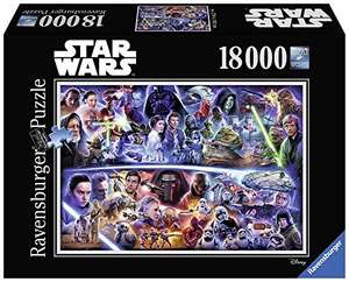 Ravensburger Star Wars Galaktische Zeitreise (18.000 Teile)