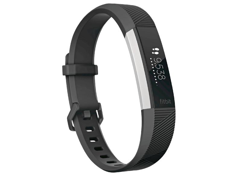 FITBIT Alta HR Fitness Tracker S Schwarz - MediaMarkt Online