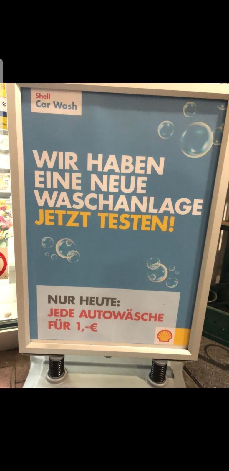 [LOKAL] Shell Neckarsulm - Autowäsche für 1€
