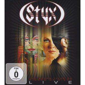 [AMAZON] Styx - The Grand Illusion/Pieces of Eight Live [Blu-ray]