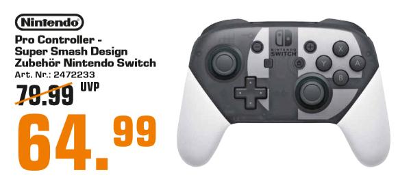 [Lokal: Saturn Regensburg] Nintendo Switch Pro Controller Super Smash Bros. Ultimate Edition
