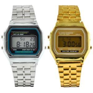 Wer keine CASIOs bekommen hat Triple-O Retro Watch  GOLD / SILBER 5,94€