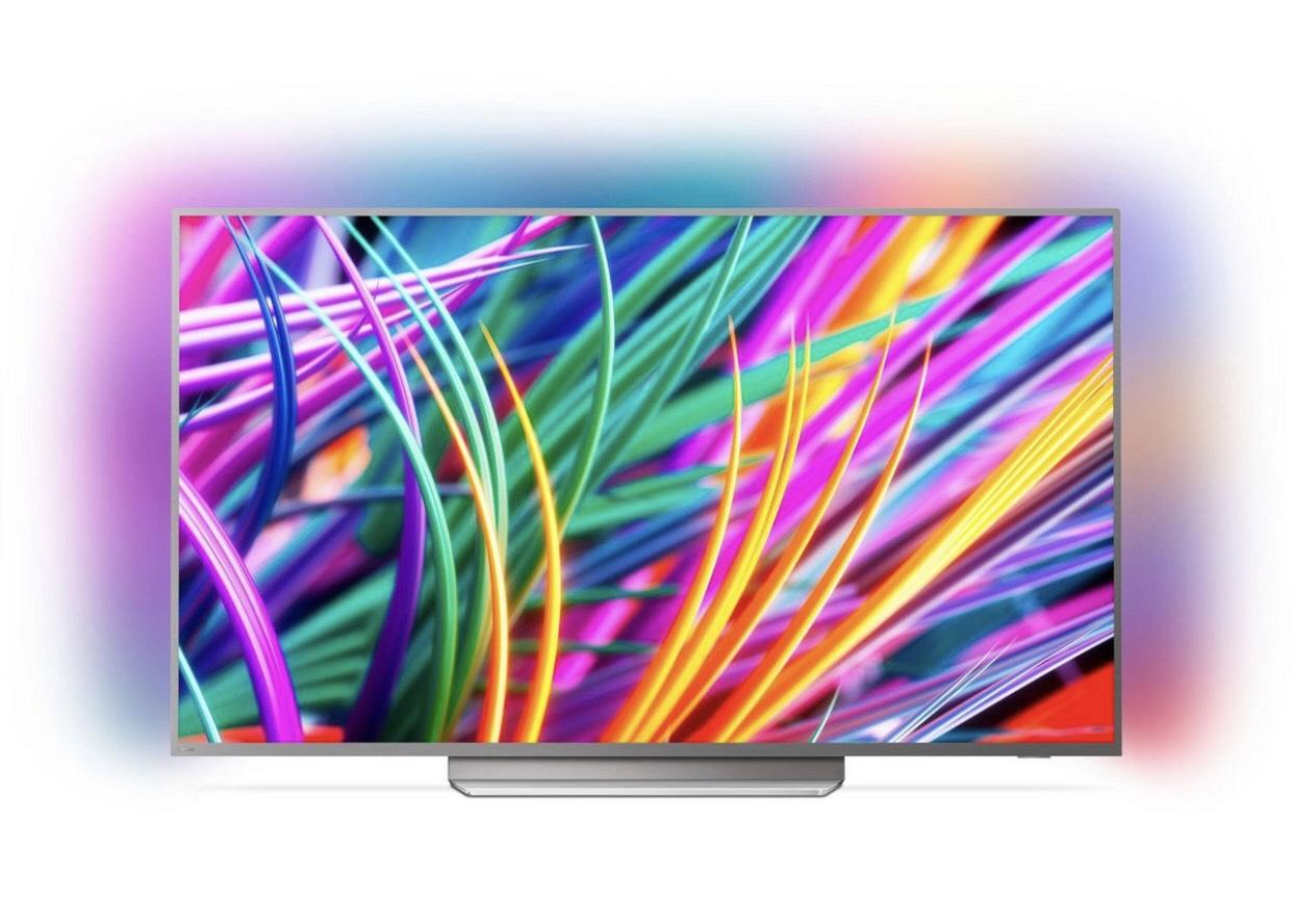 "Philips 65PUS8503 65"" 4K UHD TV mit dreiseitigem Ambilight"