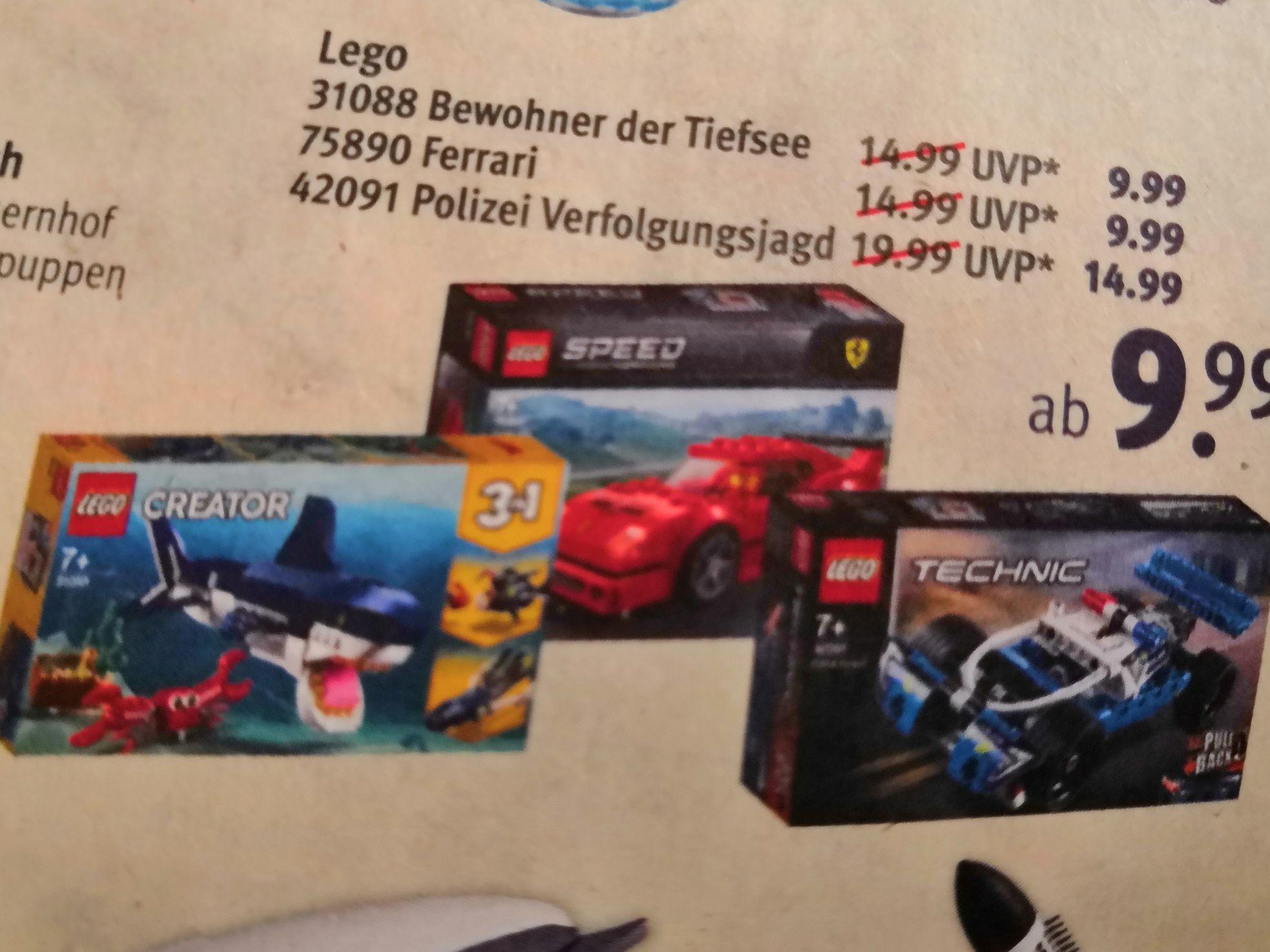 [Rossmann offline] Lego Ferrari 75890 und Lego Creator 31088