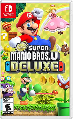 New Super Mario Bros U Deluxe (Switch Digital Code) für 35,60€ (Amazon US)