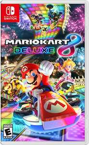 Mario Kart 8 Deluxe (Switch Digital Code) & Mario Tennis Aces für je 35,60€ (Amazon US)