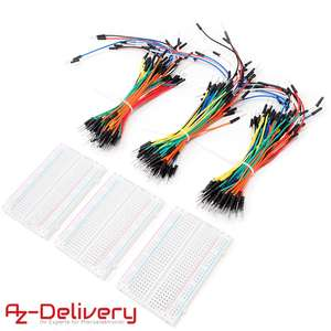 AZDelivery Geburtstagsaktion - Breadboards + Jumperkabel + Nano V3 (Versandkostenfrei ab 15€!)