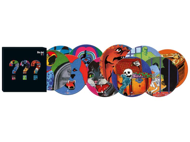 Die ersten 10 Folgen der Drei ??? als Picture-Vinyl-Box