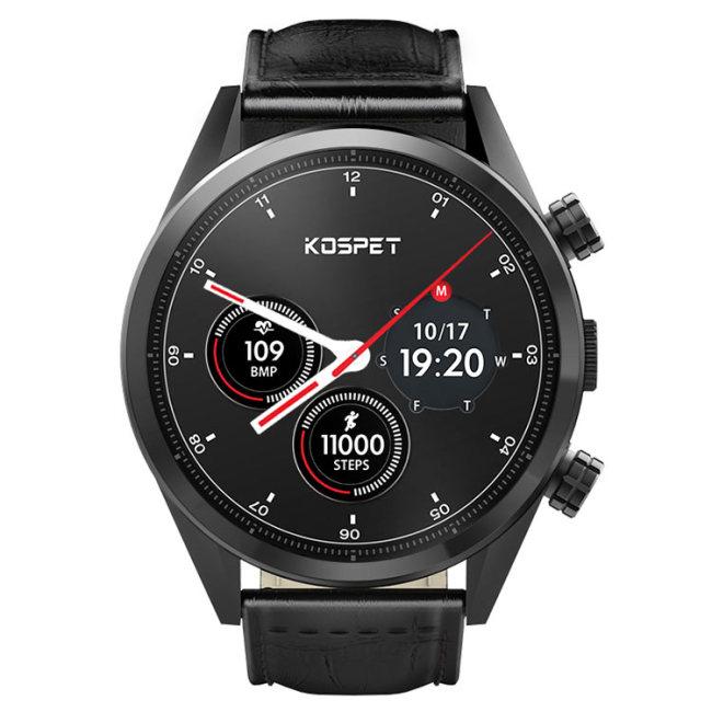 KOSPET HOPE 4G Smartwatch Phone / 3GB RAM 32GB ROM MTK6739 1.39 Zoll AMOLED Bildschirm 8.0MP Kamera IP67 Wasserdicht