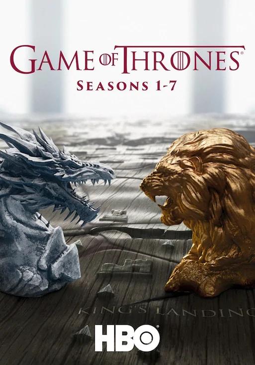 [Chili.tv] Game of Thrones Staffeln 1-7 in HD+ zum Kauf für 59,99€ bzw. in SD für 49,49€