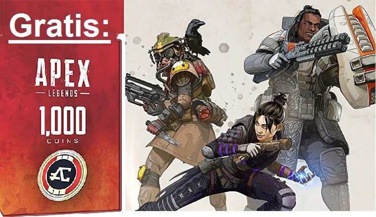 (PC) Apex Legends: 1000 Coins, legendärer Waffenskin sowie 1 Monat gratis Origin Acess Basic Mitgliedschaft - ASUS Promotion